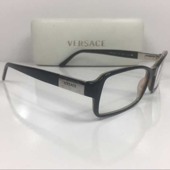 35a12343b99 Authentic 🇮🇹Versace 3084 Buckhorn Clear Glasses.  M 5a7415a285e60559a7c3db66. Other Accessories ...